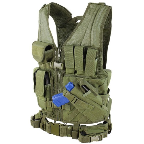 Γιλέκο Μάχης Condor Crossdraw Tactical Vest