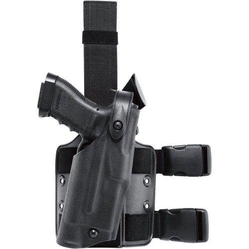 Θήκη Πιστολιού Μηρού με Φακό Safariland 6304 ALS/SLS Drop-Rig Glock 17 Tactical Holster
