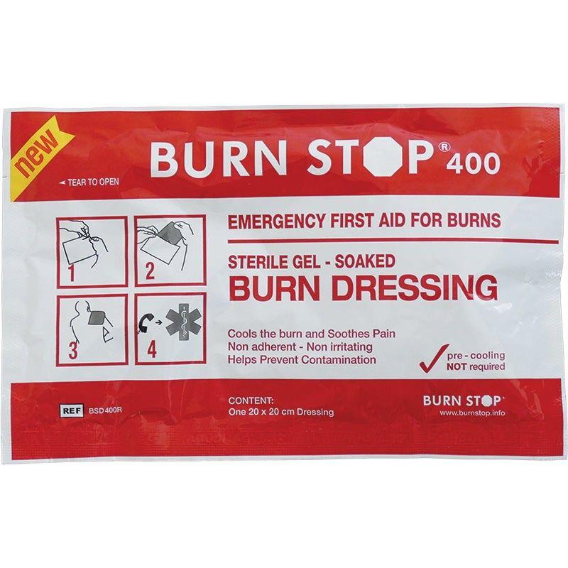 Burn Stop 400 Επίθεμα Εγκαυμάτων - 20 x 20 cm