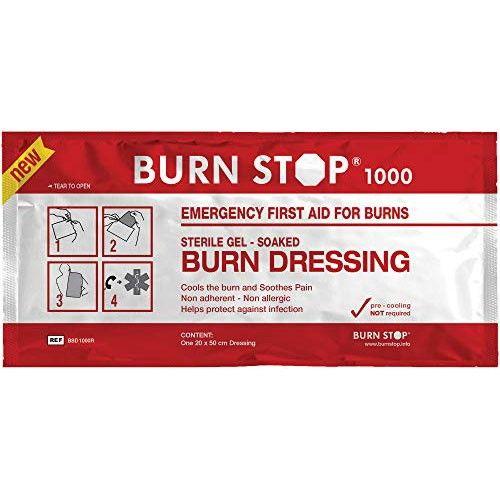 Επίθεμα Εγκαυμάτων Burn Stop 1000 20x50cm