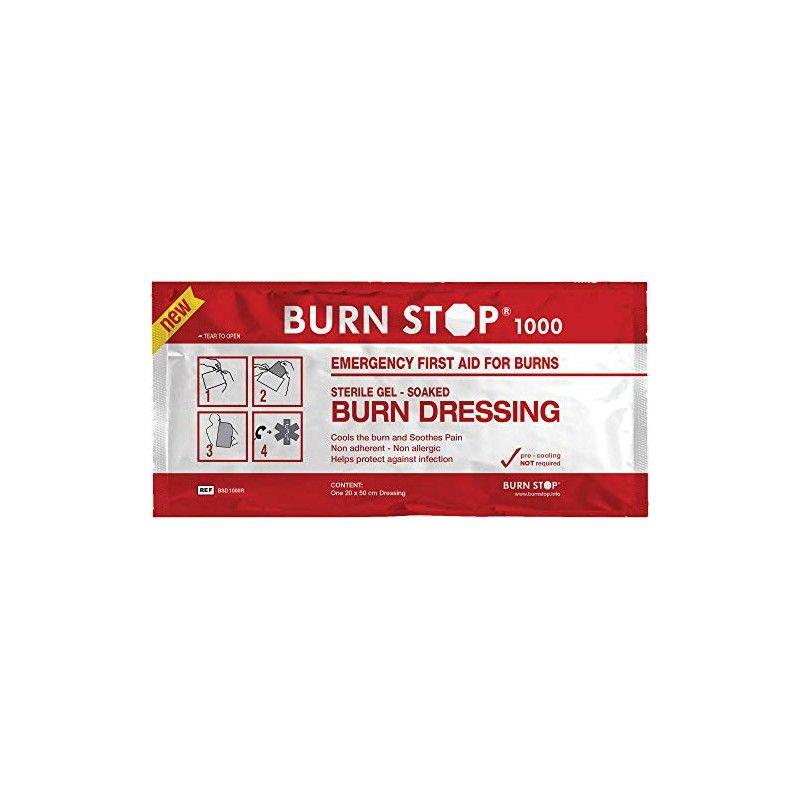 Burn Stop 1000 Επίθεμα Εγκαυμάτων - 20 x 50 cm