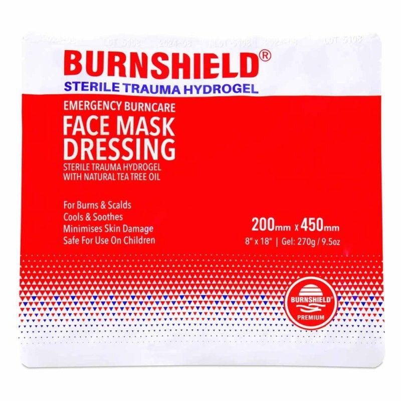 Μάσκα προσώπου Burnshield 200mm x 450mm