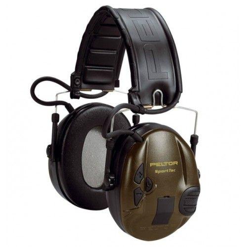 Ηλεκτρονικές Ωτοασπίδες 3M PELTOR SportTac Headset Green Cups