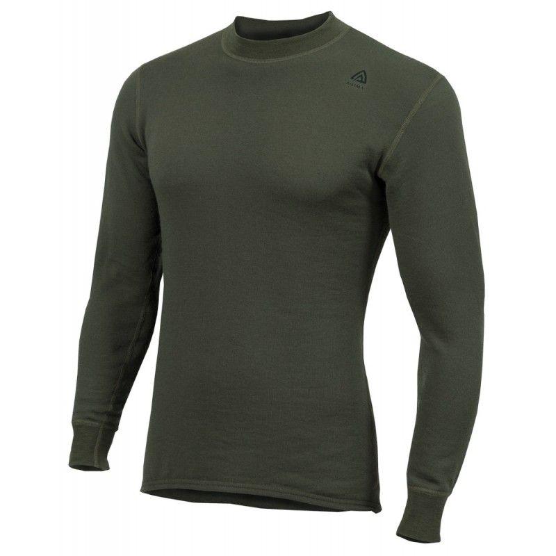 Ισοθερμική Μπλούζα ACLIMA HotWool Crew Neck Longsleeve Shirt Olive