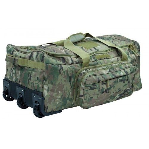 Σακ Βουαγιάζ Τροχήλατο 101NC Commando Trolley DTC Multicam