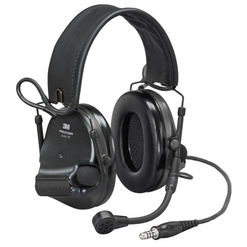 3M PELTOR ComTac XPI Headset Black, J11 Plug, Nexus Connection, Flex Mic, 1 ea/Carton