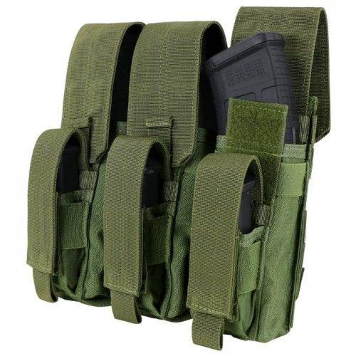 Τριπλή Θήκη Γεμιστήρων Condor Kangaroo για 3 AK και 3 Pistol Mag Pouch
