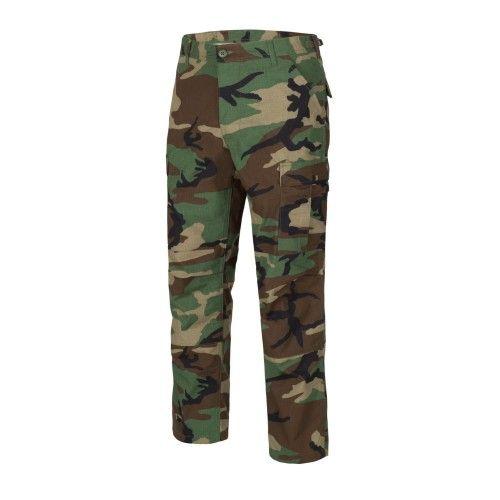 Παντελόνι Helikon-Tex BDU Pants Woodland Camo - Polycotton Ripstop