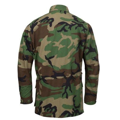 Χιτώνιο Μάχης Helikon-Tex BDU Shirt Woodland Camo - Polycotton Ripstop