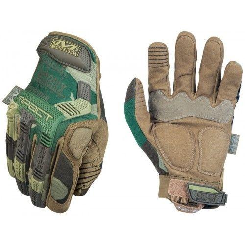 Γάντια Mechanix M-PACT Gloves Woodland Camo