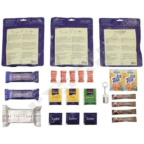 Γεύμα Εκστρατείας Τrek'n Eat Day Ration Pack Tactical 4 Vegetarian