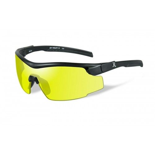 Γυαλιά ηλίου Wiley-X REMINGTON Platinum Male Matte Black w/Yellow