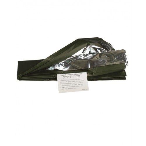 """Κουβέρτα Επιβίωσης Mil-Tec """"OD Silver Survival Blanket"""""""