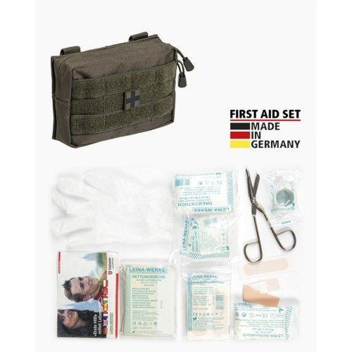 """Ατομικό Κιτ Πρώτων βοηθειών Mil-Tec """"25-Piece First Aid Set Leina"""" Small"""