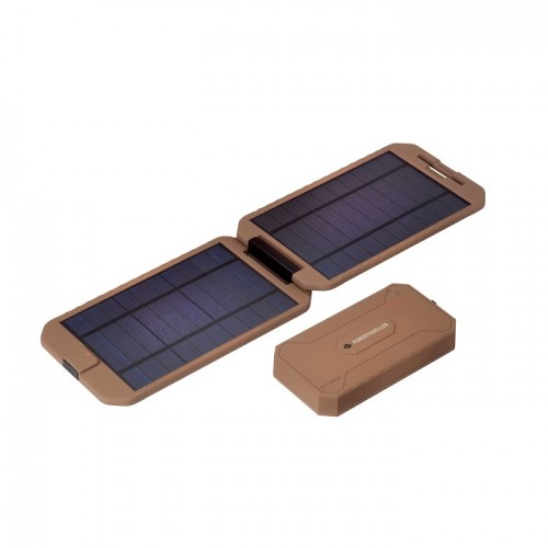 Powerbank με Ηλιακό Πάνελ Powertraveller Tactical Extreme Solar Kit