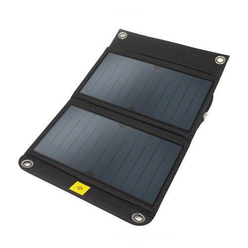 Αναδιπλούμενο Ηλιακό Πάνελ με Ενσωματωμένη Μπαταρία Powertraveller Kestrel 40