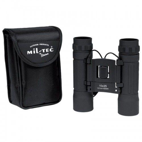 """Κιάλια Mil-Tec """"Black Gen.II Collapsible Binocular 10X25"""""""