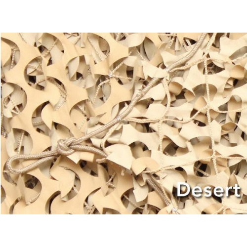 Δίχτυ Σκίασης Ερήμου με Αρτάνη 3x3m Camosystems