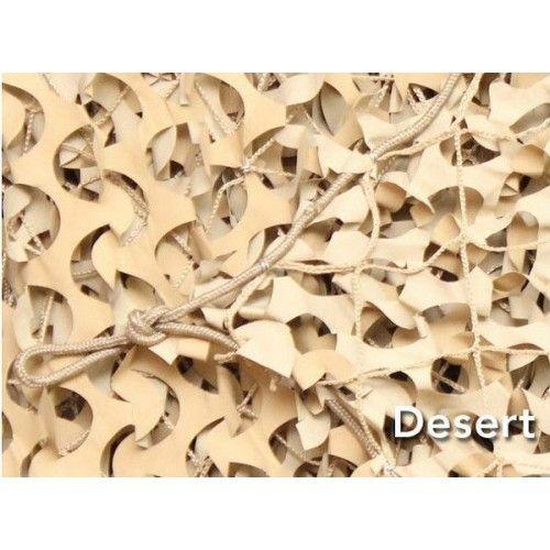 Δίχτυ Σκίασης Ερήμου με Αρτάνη 6x3m CamoSystems