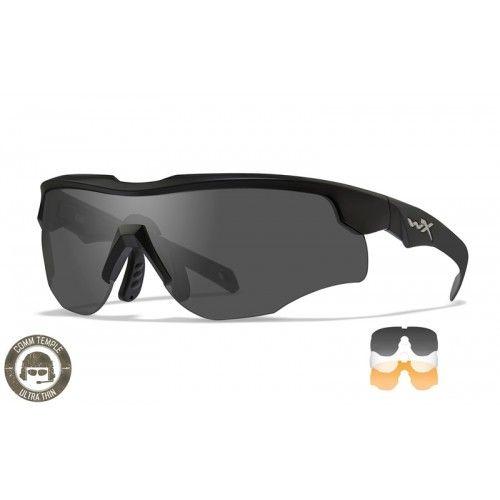 """Αντιβαλλιστικά Γυαλιά Wiley X """"Rogue Comm Grey/Clear/Rust Matte Black Frame"""""""