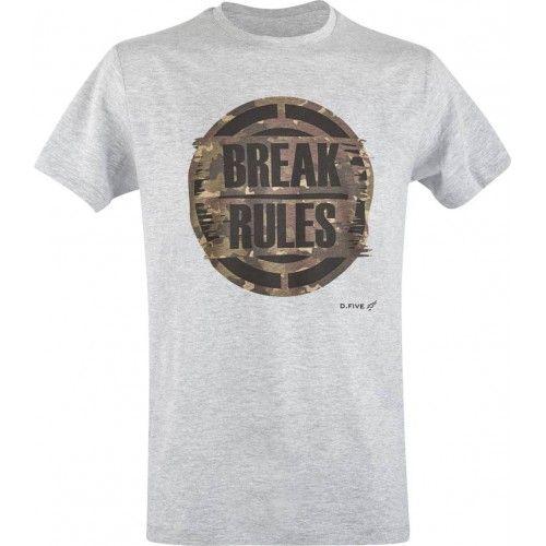 """Μπλουζάκι T-Shirt D.Five """"BREAK RULES"""""""