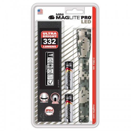 Φακός SSP2PMRH MINI MAGLITE PRO 2x AA LED καμουφλάζ