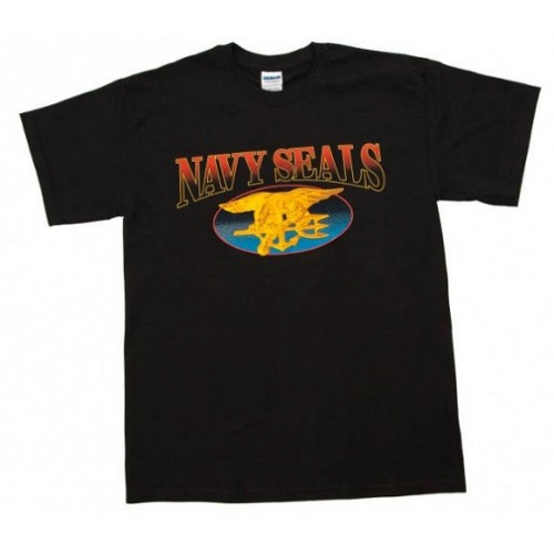 Navy SEALs T-Shirt Trident Logo