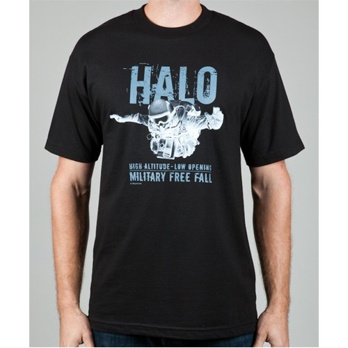 T-Shirt HALO US Navy SEALS Black