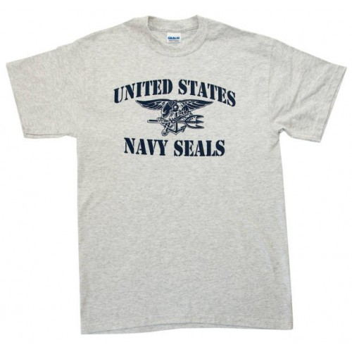 US Navy SEALs T-Shirt Stencil