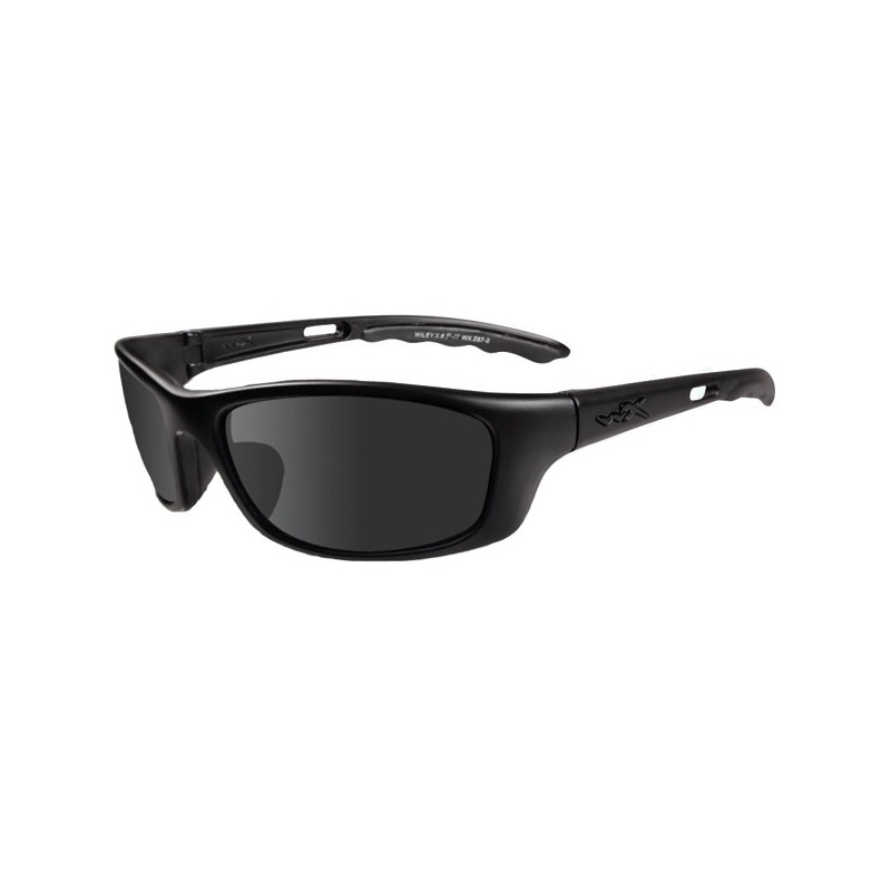 Γυαλιά ηλίου Wiley X P-17M Smoke Grey Lens, Matte Black Frame
