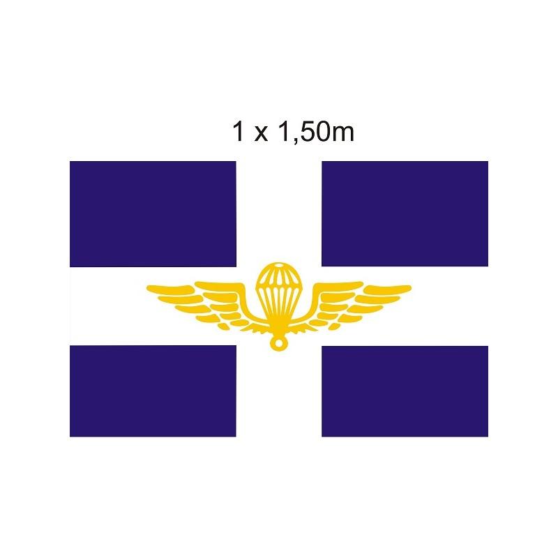 Σημαία με Έμβλημα Αλεξιπτωτιστών