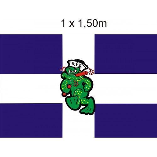Σημαία με Έμβλημα Βάτραχο O.Y.K