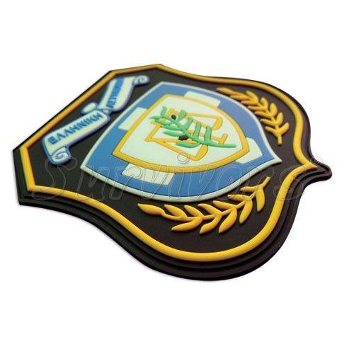 Σήμα 3D αστυνομίας με Velcro