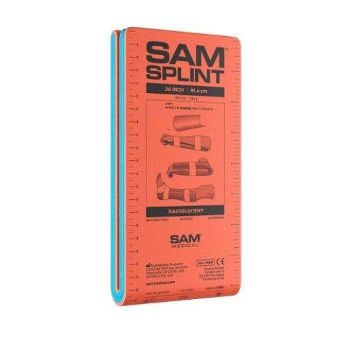 """Εύπλαστος Νάρθηκας SAM SPLINT 36"""" Επίπεδος"""