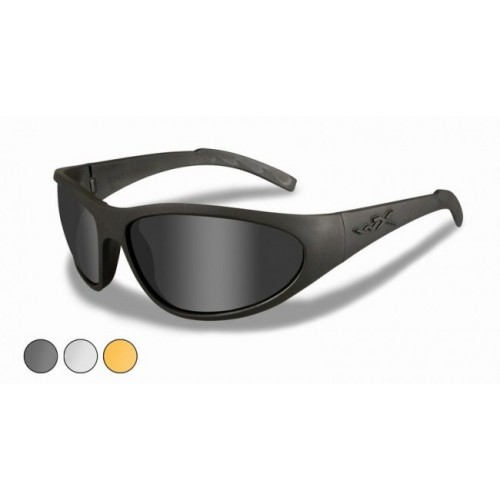 Γυαλιά ηλίου Wiley X ROMER II Ad Smoke, Clear, Rust Matte Black