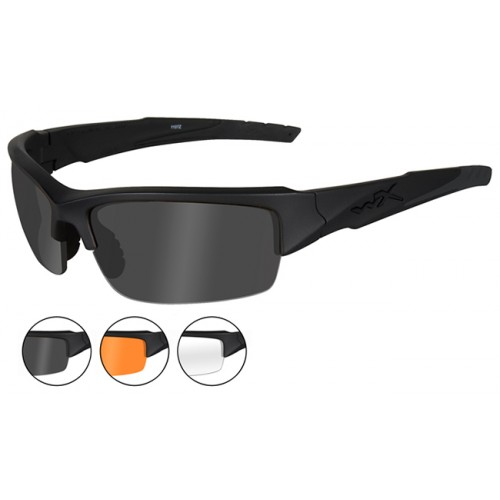Γυαλιά ηλίου WILEY-X WX Valor Clear-Grey-Light Rust Lens