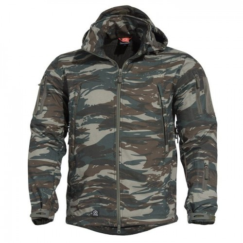 Τζάκετ Artaxes Softshell Greek Camo Pentagon