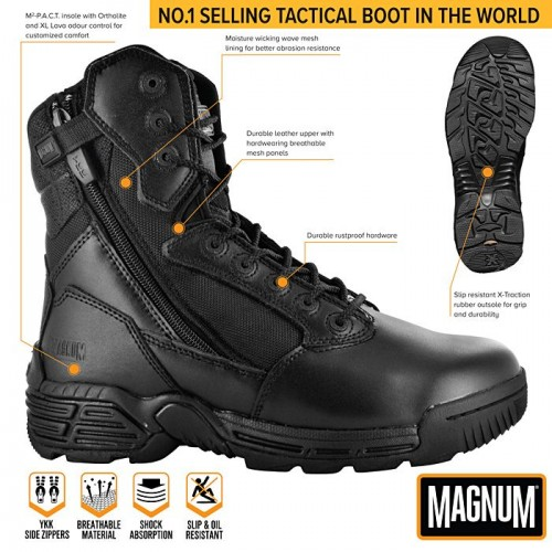 Άρβυλα Magnum Stealth Force 8.0 Leather DSZ