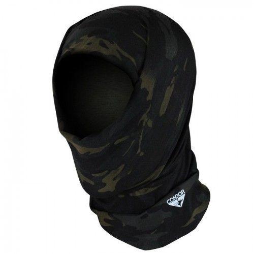 Κουκούλα Μπαλακλάβα Multi Wrap With Multicam Black