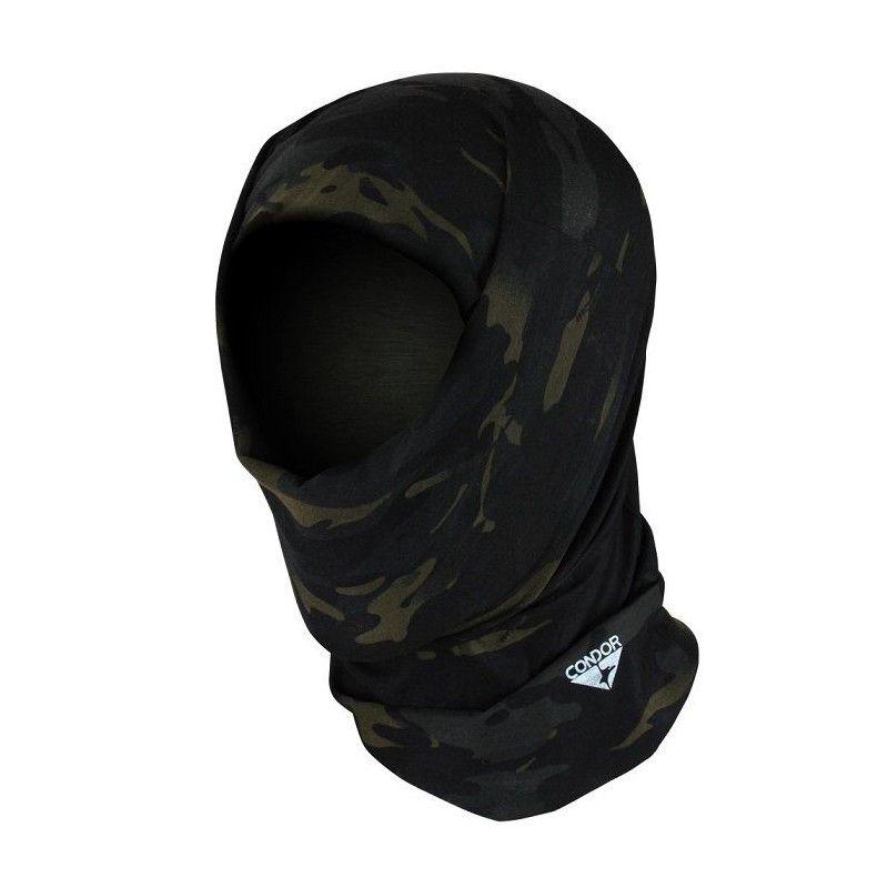 Κουκούλα Μπαλακλάβα Mylti Wrap With Multicam Black