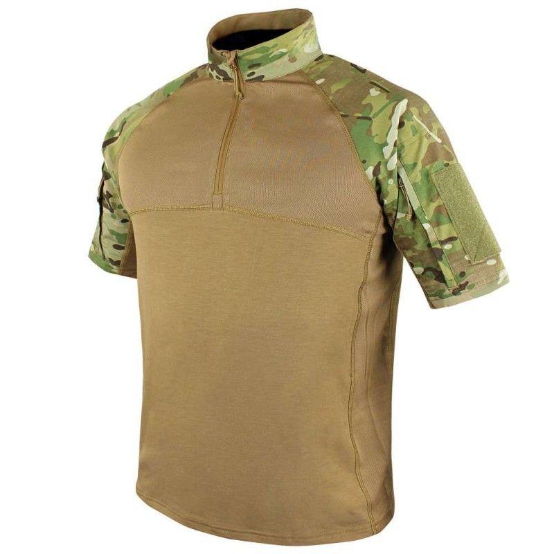 Χιτώνιο Μάχης Κοντομανικο Condor Combat Shirt Multicam