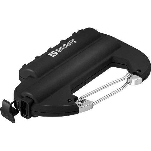 Carabiner Powerbank Waterproof 6000 mAh