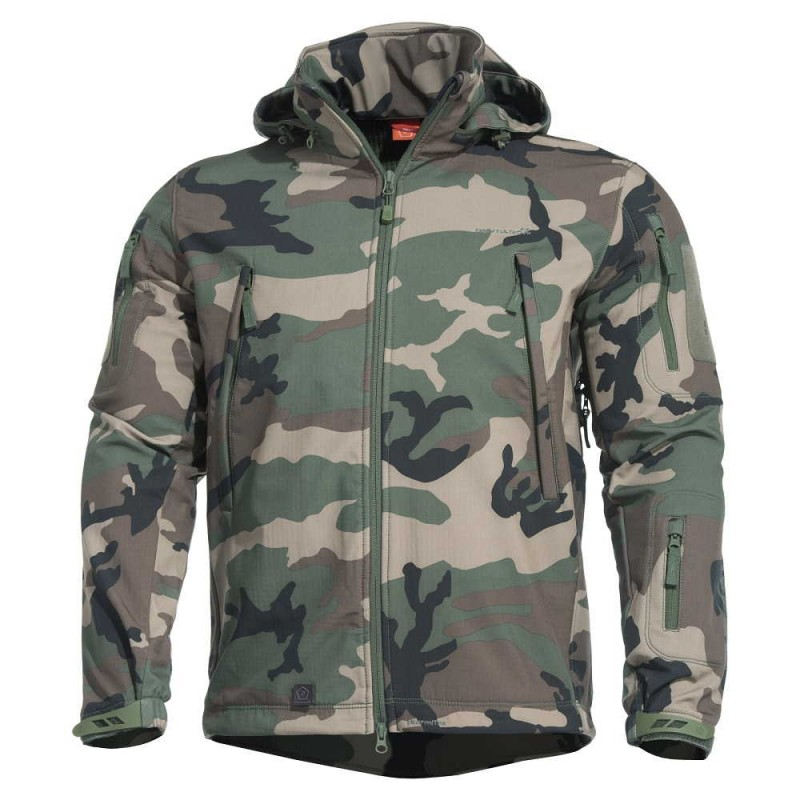 Τζάκετ Pentagon Artaxes Softshell Woodland
