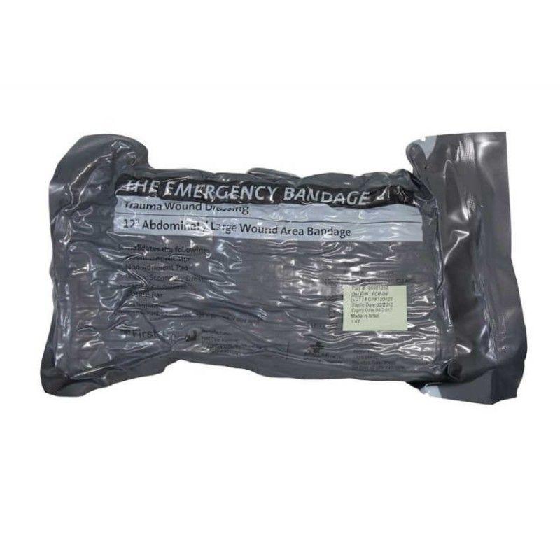 """Στρατιωτικός Αποστειρωμένος Αιμορραγικός Επίδεσμος Μάχης 30 cm """"Israeli Bandage"""" FCP09"""