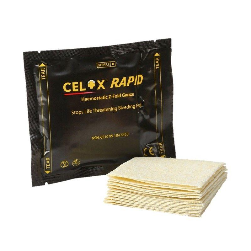 Αιμοστατική Γάζα CELOX Rapid Z-Fold
