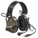 Ακουστικά 3M PELTOR ComTac XPI Headset NATO Wired Cap Attached Green