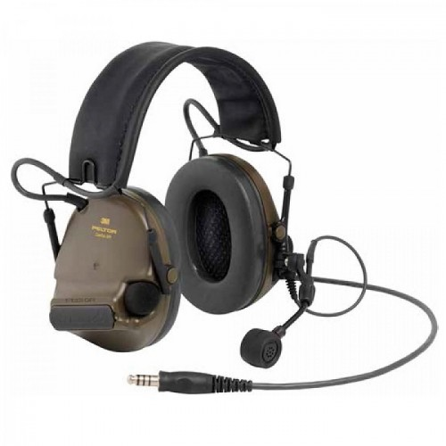 Ακουστικά 3M PELTOR ComTac XPI Headset J11 Nexus Connection, Green