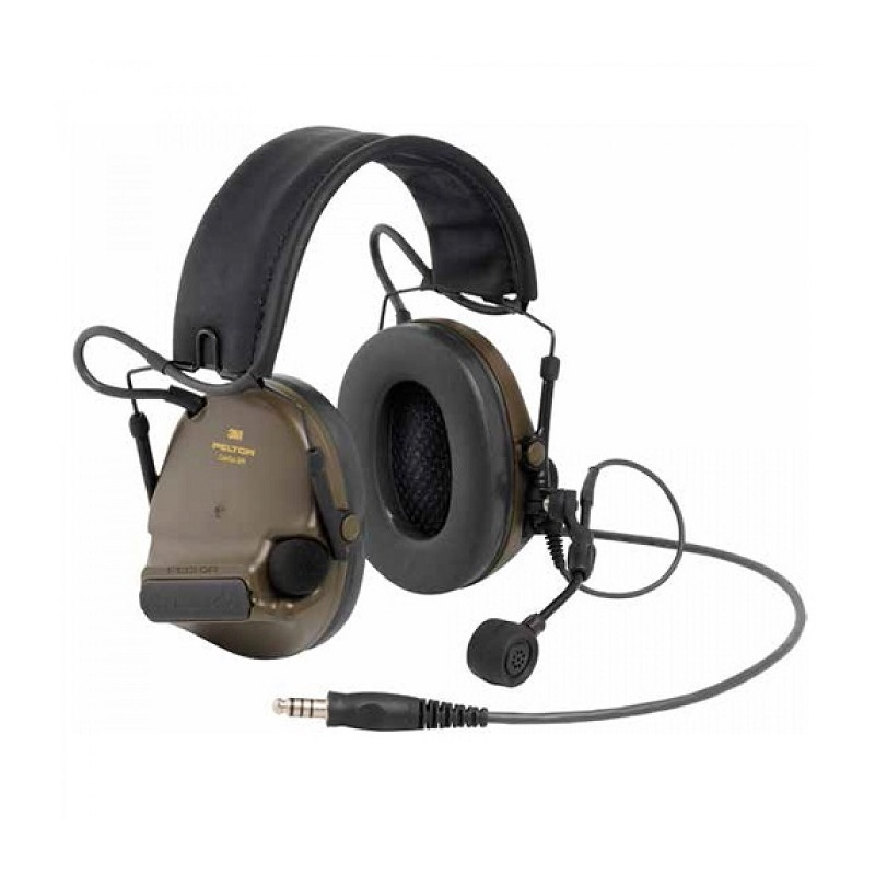 Ακουστικά 3M PELTOR ComTac XPI Headset J11 Nexus Connection, Green