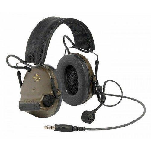 Ακουστικά 3M Peltor ComTac XPI Headset NATO Wired Green