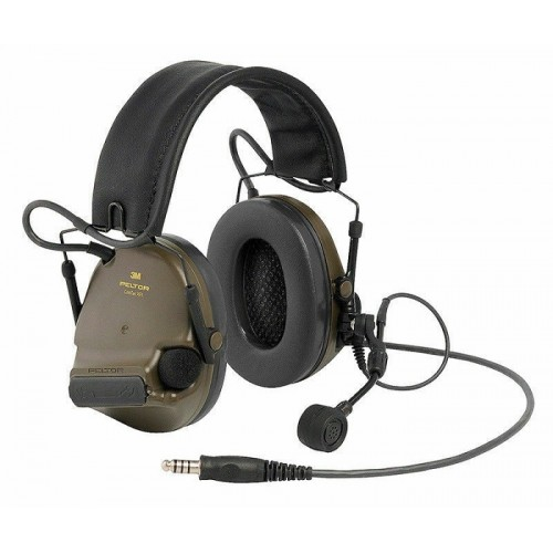 '3M™ Peltor™ ComTac XPI Headset- NATO Wired Green